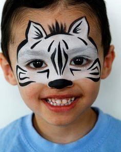 maquillaje-halloween-zebra