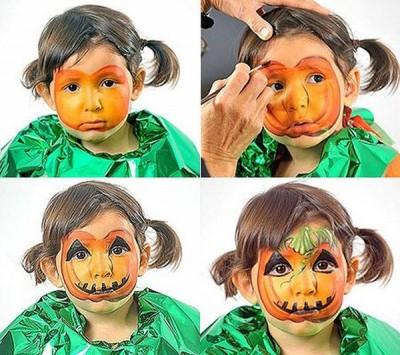 maquillajes-halloween-calabaza-